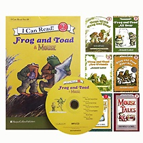 [I Can Read Book] Level 2. Frog and Toad 4�� + Mouse 2�� 6�� ��Ʈ (å6��+CD1��)