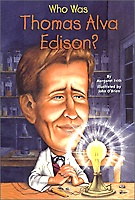 Who Was Thomas Alva Edison (Paperback)