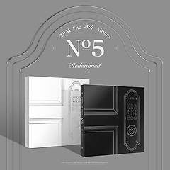투피엠(2PM) 5집 - No.5 [DAY ver.(화이트) & NIGHT ver.(블랙) 랜덤 발송]