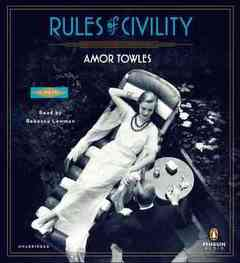 Rules of Civility (CD)