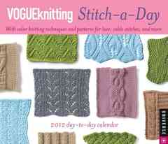 Vogueknitting Stitch-a-Day 2012 Calendar