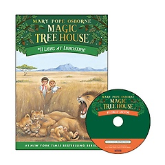 Magic Tree House #11 : Lions at Lunchtime (Paperback+ CD)