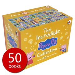"""<font title=""""페파피그 인크레더블 원서 50권 박스 세트 : Peppa Pig Incredible: 50 Book Box Set (Paperbook/ 영국판)"""">페파피그 인크레더블 원서 50권 박스 세트 ...</font>"""