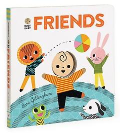 Busy Baby: Friends (Board Book)