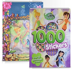 """<font title=""""Disney Fairies Sticker book+TinkerBell and the Secret of the Wings Storybook"""">Disney Fairies Sticker book+TinkerBell a...</font>"""