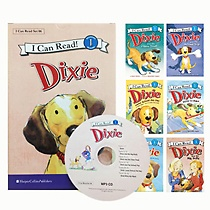 [I Can Read Book] Level 1. Dixie �ø��� 6�� ��Ʈ (å6��+CD1��)