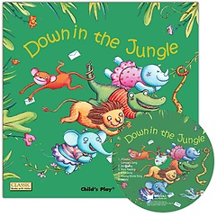"<font title=""[노부영] Down in the Jungle (Paperback+CD/ 세이펜에디션)"">[노부영] Down in the Jungle (Paperback+C...</font>"