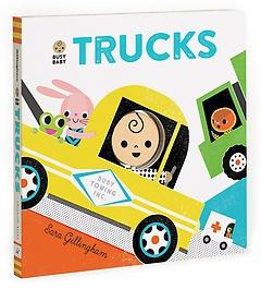 Busy Baby: Trucks (Board Book)