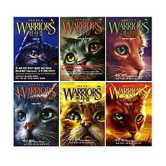 WARRIORS 전사들 시리즈 1~6권 세트