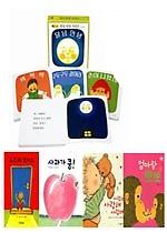 0-3세 인기 보드북 구성 + 유아퍼즐 [전8권/최신본/ 달님안녕 세트, 사과가 쿵 외]