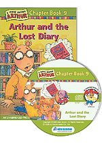 Arthur Chapter Book 9. Arthur and the Lost Diary (Paperback + CD)