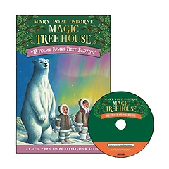 Magic Tree House #12 : Polar Bears Past Bedtime (Paperback+ CD)
