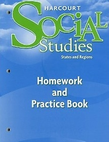 Social Studies Grade 4 - States and Regions Work Book 2007 (Hardcover)