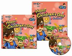 "<font title=""EBS 번개맨의 영어나라 CD 세트 - Happy Children"
