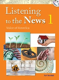 """<font title=""""Listening to the News 1 : Student Book (Paperback+MP3 CD)"""">Listening to the News 1 : Student Book (...</font>"""