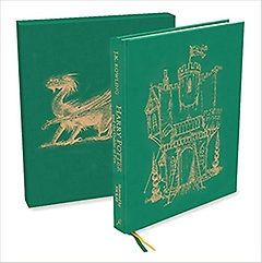 """<font title=""""Harry Potter and the Goblet of Fire : Deluxe Illustrated Slipcase Edition (Hardcover)"""">Harry Potter and the Goblet of Fire : De...</font>"""