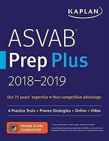 """<font title=""""Kaplan Asvab Prep Plus 2018-2019 (Paperback)"""">Kaplan Asvab Prep Plus 2018-2019 (Paperb...</font>"""
