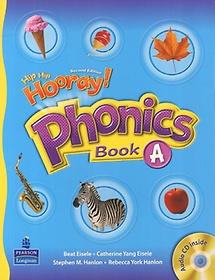"<font title=""Hip Hip Hooray Phonics Book A (Paperback+Audio CD:1)"">Hip Hip Hooray Phonics Book A (Paperback...</font>"