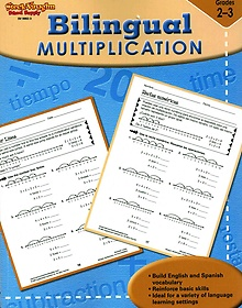 "<font title=""Bilingual Multiplication (Paperback/ Student) "">Bilingual Multiplication (Paperback/ Stu...</font>"
