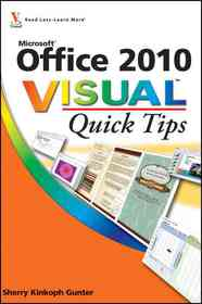 """<font title=""""Office 2010 Visual Quick Tips (Paperback)"""">Office 2010 Visual Quick Tips (Paperback...</font>"""