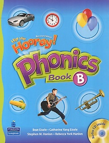"<font title=""Hip Hip Hooray Phonics Book B (Paperback+Audio CD:1)"">Hip Hip Hooray Phonics Book B (Paperback...</font>"
