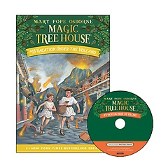 Magic Tree House #13 : Vacation Under the Volcano (Paperback+ CD)