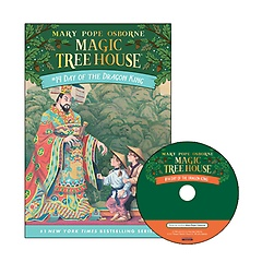 Magic Tree House #14 : Day of the Dragon King (Paperback+ CD)