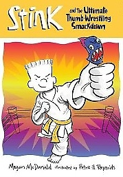 """<font title=""""Stink #6 : Stink and the Ultimate Thumb-Wrestling Smackdown (Paperback)"""">Stink #6 : Stink and the Ultimate Thumb-...</font>"""