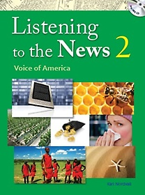"""<font title=""""Listening to the News 2 : Student Book (Paperback+MP3 CD)"""">Listening to the News 2 : Student Book (...</font>"""