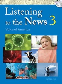 """<font title=""""Listening to the News 3 : Student Book (Paperback+MP3 CD)"""">Listening to the News 3 : Student Book (...</font>"""