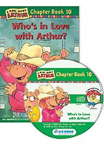 Arthur Chapter Book 10. Who's in Love with Arthur? (Paperback + CD)