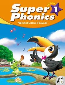 "<font title=""Super Phonics 1: Student Book (Paperback+Hybrid CD/2nd Ed.)"">Super Phonics 1: Student Book (Paperback...</font>"