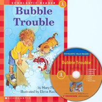 Bubble Trouble - Scholastic Hello Reader CD Set 1-3 (Paperback+Audio CD)