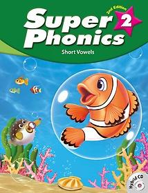 "<font title=""Super Phonics 2: Student Book (Paperback+Hybrid CD/2nd Ed.)"">Super Phonics 2: Student Book (Paperback...</font>"