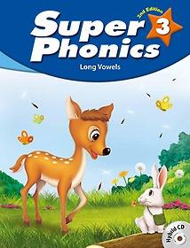 "<font title=""Super Phonics 3: Student Book (Paperback+Hybrid CD/2nd Ed.)"">Super Phonics 3: Student Book (Paperback...</font>"
