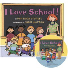 [베오영]I Love School! (Paperback+ CD)