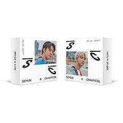 세훈&찬열(EXO-SC) - What a life [1st Mini Album][SC2019_P or SC2019_G 버전 중 1종 랜덤][키노앨..