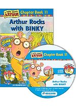 Arthur Chapter Book 11. Arthur Rocks with Binky (Paperback + CD)