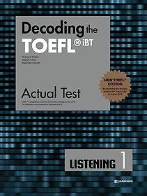 "<font title=""Decoding the TOEFL iBT Actual Test LISTENING 1 (New TOEFL Edition)"">Decoding the TOEFL iBT Actual Test LISTE...</font>"