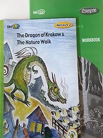 """<font title=""""[EBS 초등영어] EBS 초목달 Mercury 6-2 세트 The Dragon of Krakow & The Nature Walk"""">[EBS 초등영어] EBS 초목달 Mercury 6-2 세...</font>"""