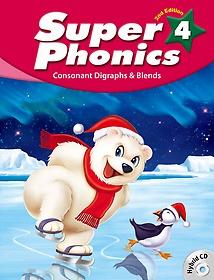 "<font title=""Super Phonics 4: Student Book (Paperback+Hybrid CD/2nd Ed.)"">Super Phonics 4: Student Book (Paperback...</font>"