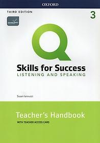 """<font title=""""Q 3E Listening & Speaking 3 Teacher"""