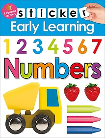 "<font title=""Sticker Early Learning Numbers (Hardcover)"">Sticker Early Learning Numbers (Hardcove...</font>"