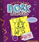 """<font title=""""Dork Diaries #2: Tales from a Not-So-Popular Party Girl (CD /Unabridged Ed./도서별매) """">Dork Diaries #2: Tales from a Not-So-Pop...</font>"""