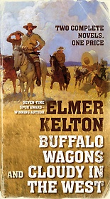 """<font title=""""Buffalo Wagons and Cloudy in the West (Paperback)"""">Buffalo Wagons and Cloudy in the West (P...</font>"""
