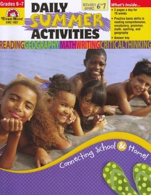 """<font title=""""Daily Summer Activities, Moving from 6th to 7th Grade (Paperback)"""">Daily Summer Activities, Moving from 6th...</font>"""