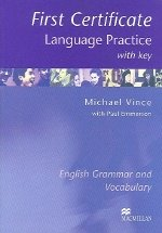 """<font title=""""First Certificate Language Practice with Key  (Paperback)"""">First Certificate Language Practice with...</font>"""