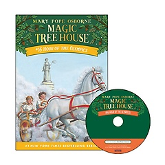 Magic Tree House #16 : Hour of the Olympics (Paperback+ CD)