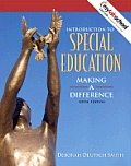 """<font title=""""Introduction To Special Education (6th Edition/ Hardcover)"""">Introduction To Special Education (6th E...</font>"""