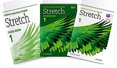 Stretch 1: Student Book+Workbook+Audio CD